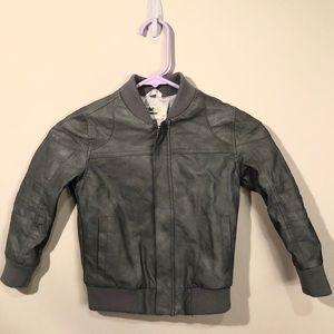 OshKosh B'gosh Jackets & Coats - Boys genuine kids faux leather jacket